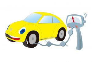 タイヤの高気圧