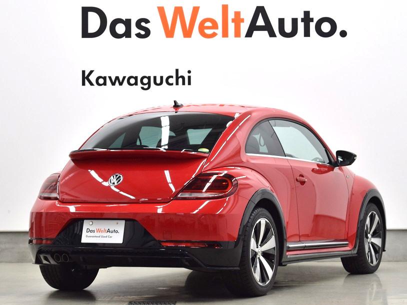 【登録済未使用車】The Beetle R-Line 純正ナビ・ ETC 装着車の画像2