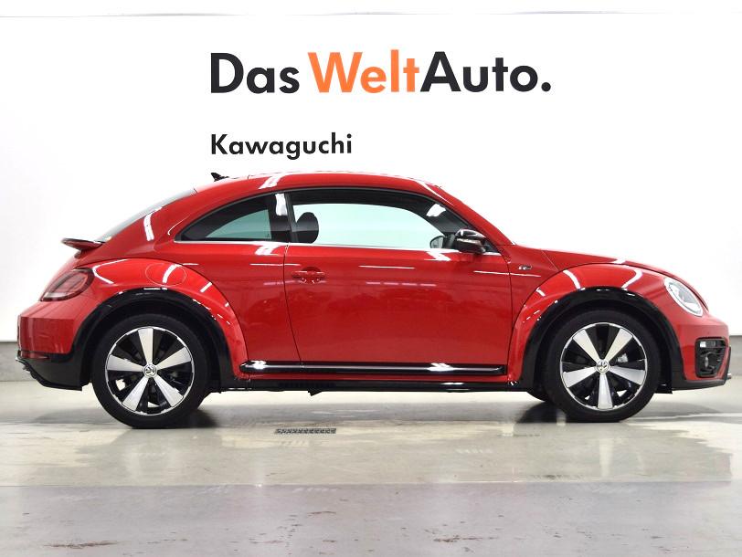 【登録済未使用車】The Beetle R-Line 純正ナビ・ ETC 装着車の画像3